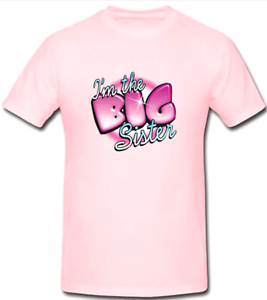 6ae2ad4f Image is loading BIG-SISTER-Pregnancy-Announcement-Funny-T-Shirts-Big-