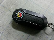 1 Adesivo Resinato Sticker 3D FIAT ABARTH 1.4 mm per telecomando