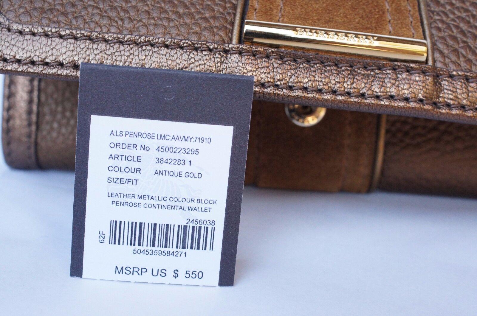 6bb62315c1a8 5045359584271 Burberry Wallet Colour Block Penrose CONTINENTAL Womens Bag  Handbag for sale online