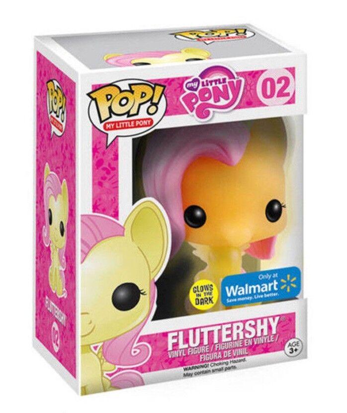 FUNKO POP MY LITTLE PONY FLUTTERSHYGLOW WALMART VINYL FIGUREFAST POST