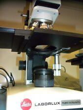 Leitz Laborlux 12hl Microscope With 4 Objectives 10x 50x 80x 100x