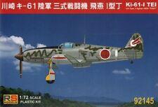 RS Models 1/72 Ki-61-I Tei IJA Type. 3 fighter Hien 'Tony' # 92145