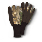Hunters Specialties Bite Grip Unlined Jersey Gloves 07321 in Realtree Xtra Camo