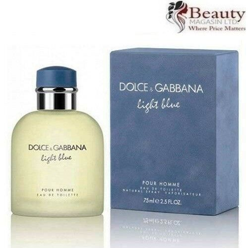 Dolce   Gabbana Light Blue Pour Homme Eau De Toilette 75ml Spray   eBay e8e1eba15cf4