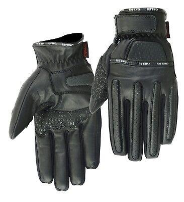 Liberaal Evo All Weather Pure Leather Motorbike Gloves Motorcycle Bike Working Wheelchair