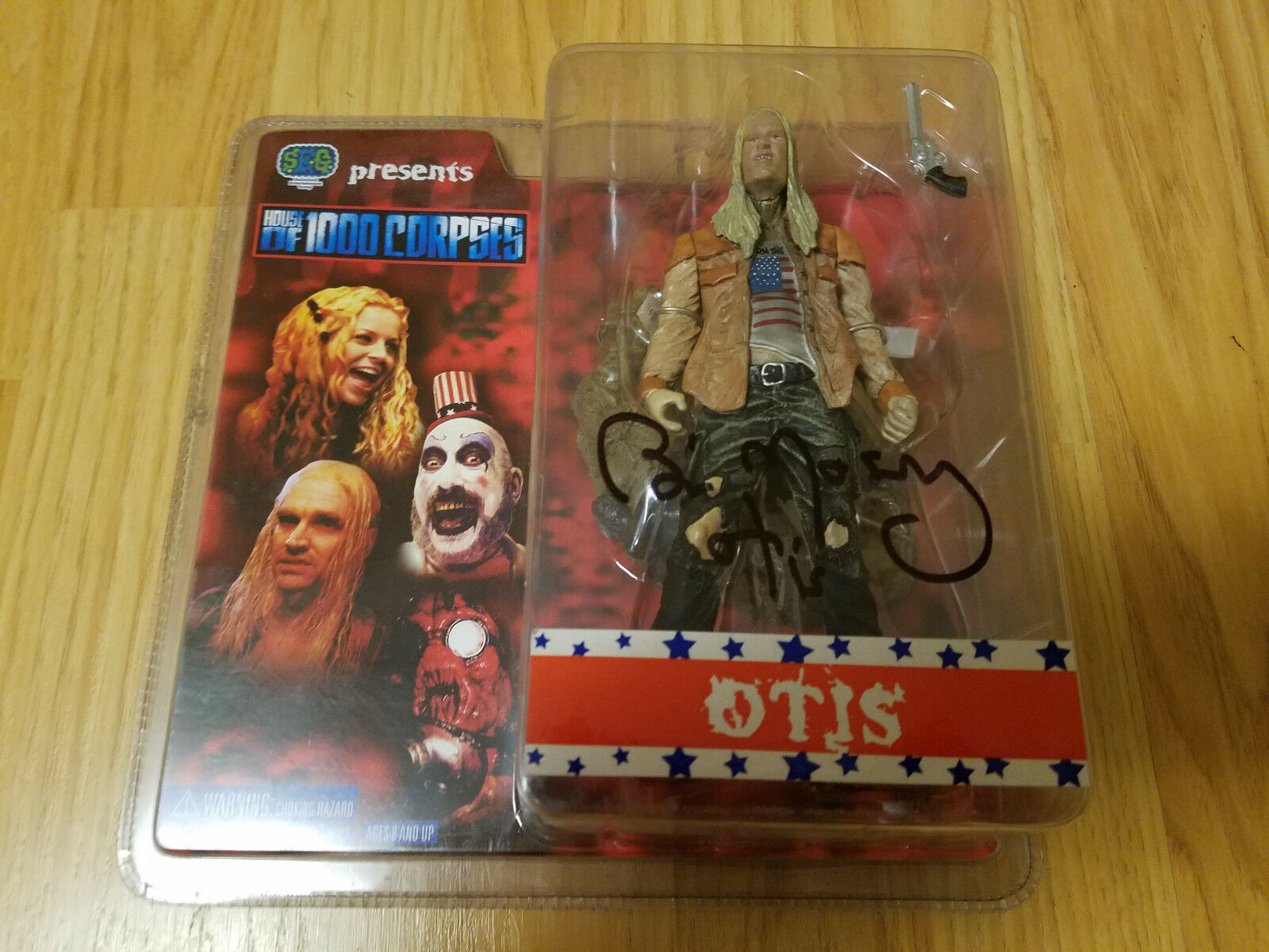 SEG House of 1000 1000 1000 Corpses Rob Zombie Otis Figure 2003 Signed by Bill Moseley 76dcbf