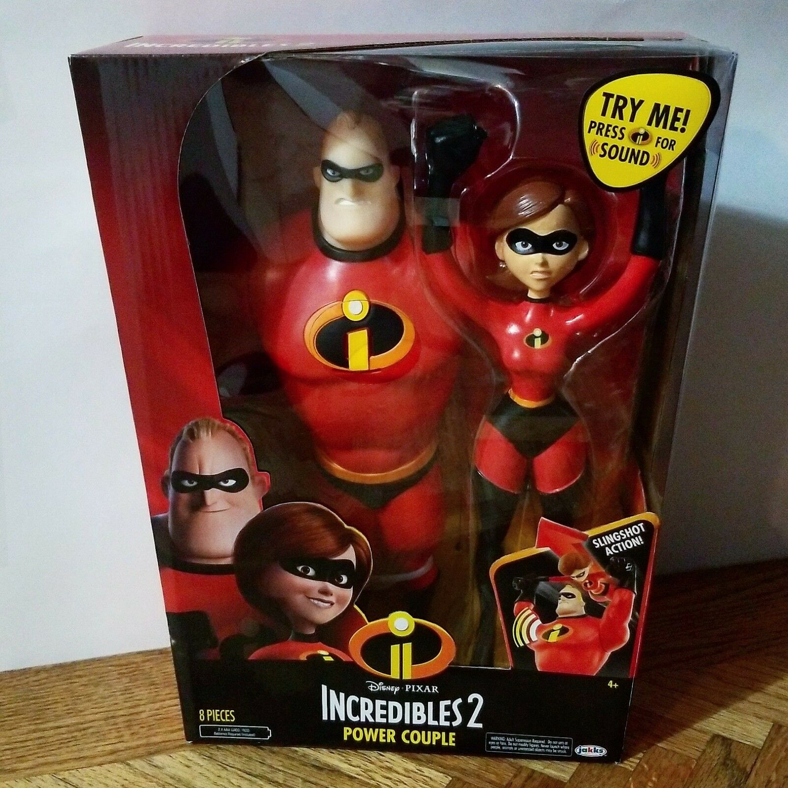 The Incredibles 2 Power Couple 12  w    Mr. Incredible and Elastigirl Action 2973ec