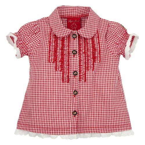 85609 BONDI Filles Costumes Chemisier Alpes Bonheur NEUF 62 62 74 80 86 92 carreaux rouge