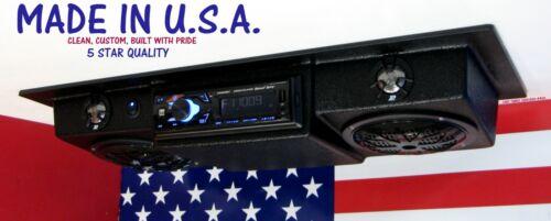 UTV BLUETOOTH Radio Overhead Console Stereo Roof Mount SOUNDBAR Slim Design