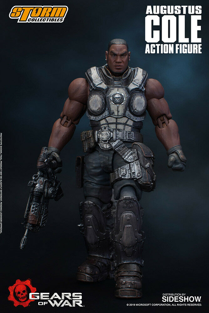 STORM COLLECTIBLES 1 12 Gears of War - Augustus Cole