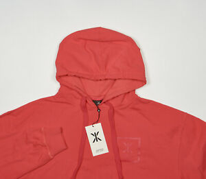 NWT-ONEPIECE-Sweatshirt-Hoody-XS-in-Bright-Red-Stretch-Cotton-HEAT-HOODIE