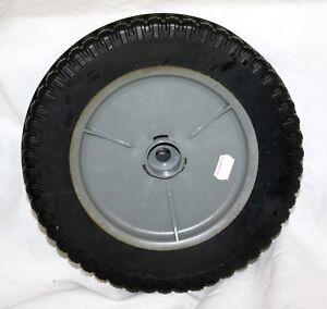 "2/"" Hub Length 1//2/"" CH 9x2 Plastic Rim with Hard Rubber Tire"