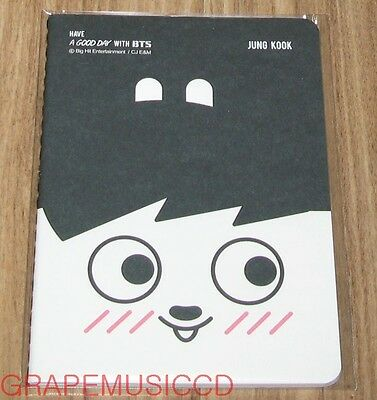 BANGTAN BOYS BTS 방탄소년단 HIPHOP MONSTER CHARACTER GOODS NOTE SMALL SEALED