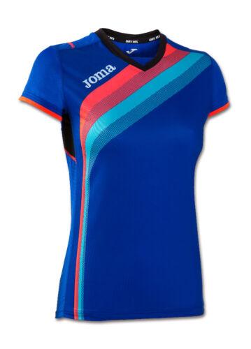 Joma T-shirt Femmes Elite V taille XS S M L XL XXL Laufshirt Fitness Chemise Sport Chemise