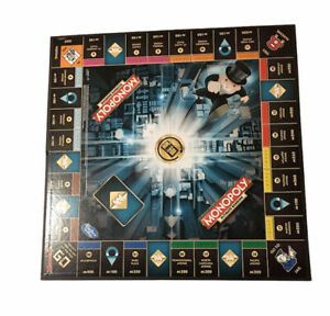 Monopoly Ultimate Banking Edition Board Game Replacement Parts - Board Only 2015