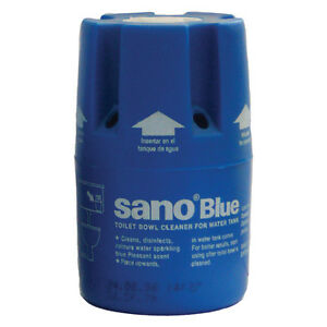 """SANO BLUE WATER TOILET BOWL CLEANER Hygienic Long-lasting soap WC tank /""""TABLET/"""""""