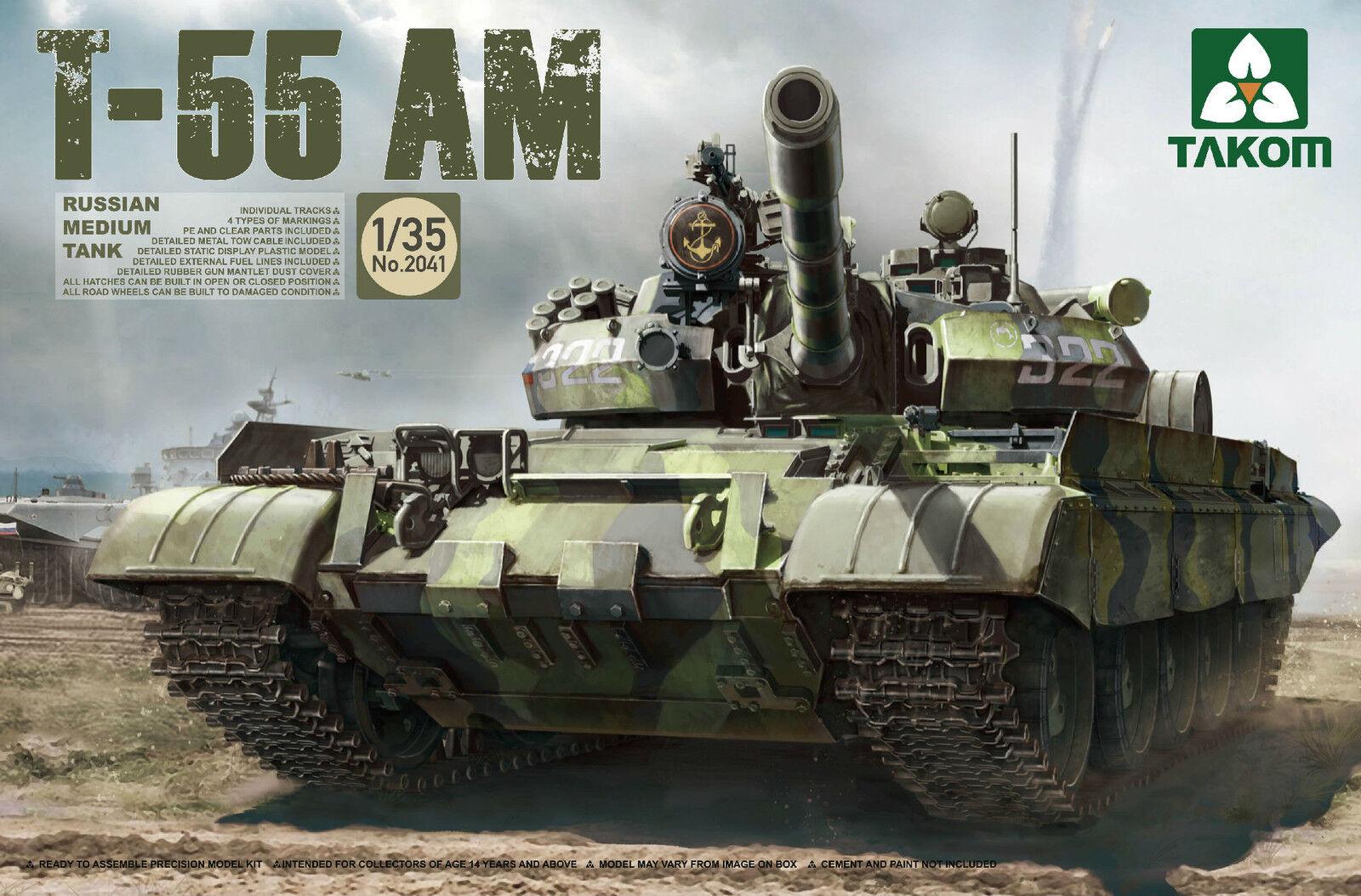 TAKOM  2041 Russian Medium Tank Tank Tank T-55AM in 1 35  | Kaufen  de214e