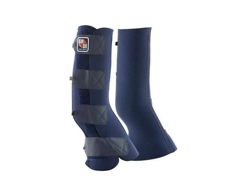 Equilibrium equi-chaps pair of hardy turn out horse chaps in navy neoprene