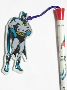 Matita Collection Pencil Batman 1979 Originale 3d Figure Gadget Dc Comics Corno