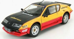SOLIDO RENAULT   ALPINE A310 PACK GT CALBERSON EVOC RALLY 1983   YELLOW RED B...