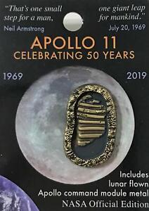 Nasa-Apollo-11-Foot-Prints-50th-Anniversary-Pin-Contains-Flown-Metal