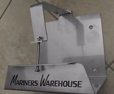 Yamaha Outboard 2 Cycle Oil Reservoir Tank Mount Bracket in 316 Stainless Steel