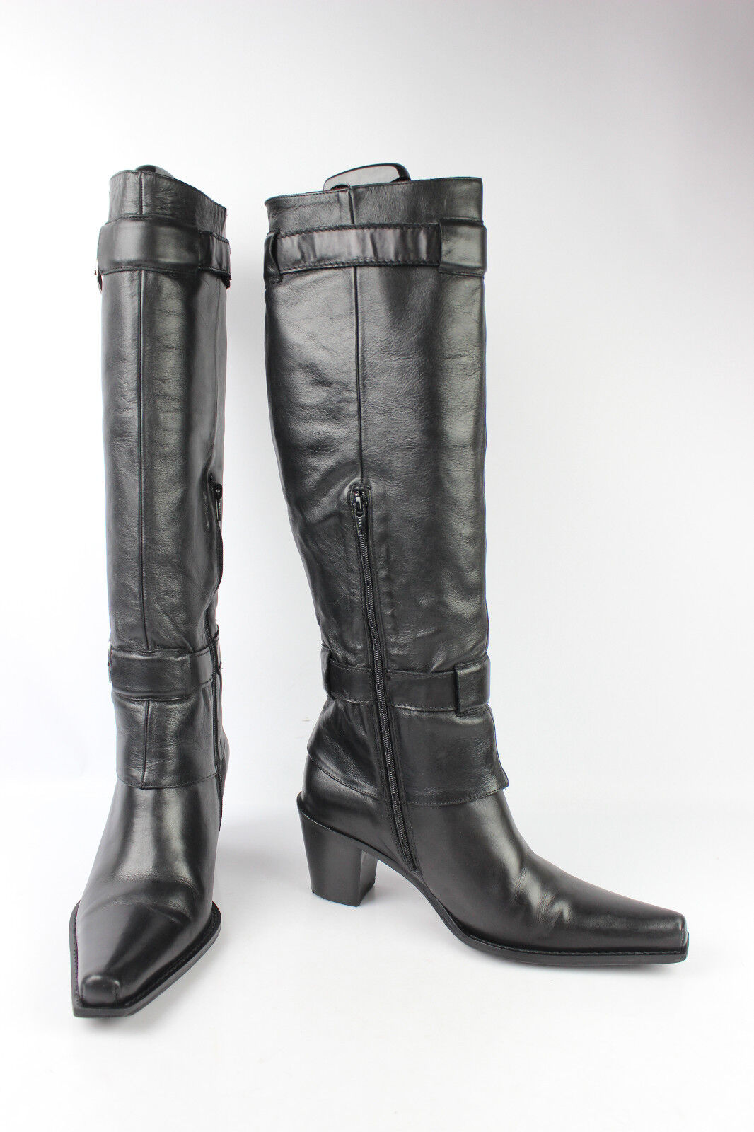 Stiefel ACCESSOIRE sehr DIFFUSION Vollleder schwarz t 37,5 sehr ACCESSOIRE guter Zustand cbc94e