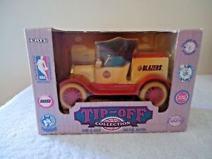 Vintage-034-NIB-034-1994-Ertl-NBA-Licensed-Tip-Off-Collection-034-Blazers-034-Truck-Bank