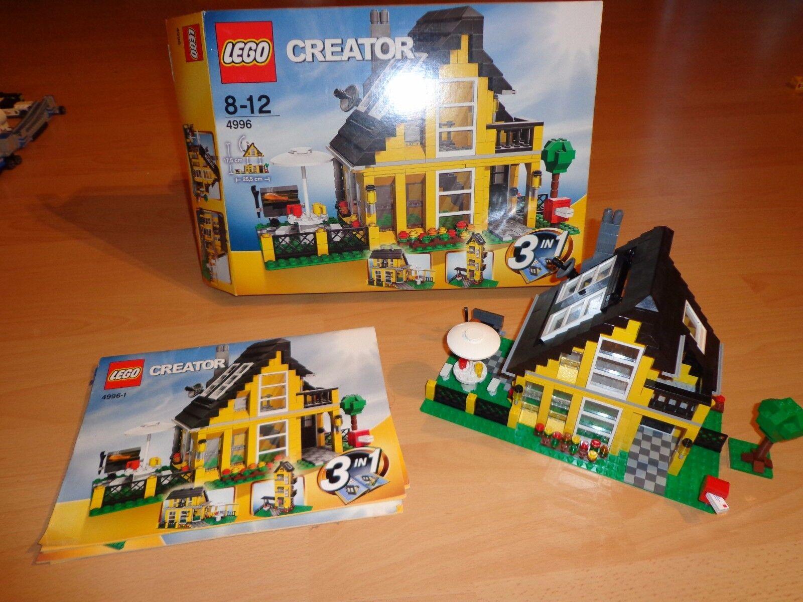 Lego Creator 4996 Ferienhaus OVP mit Bauanleitung komplett