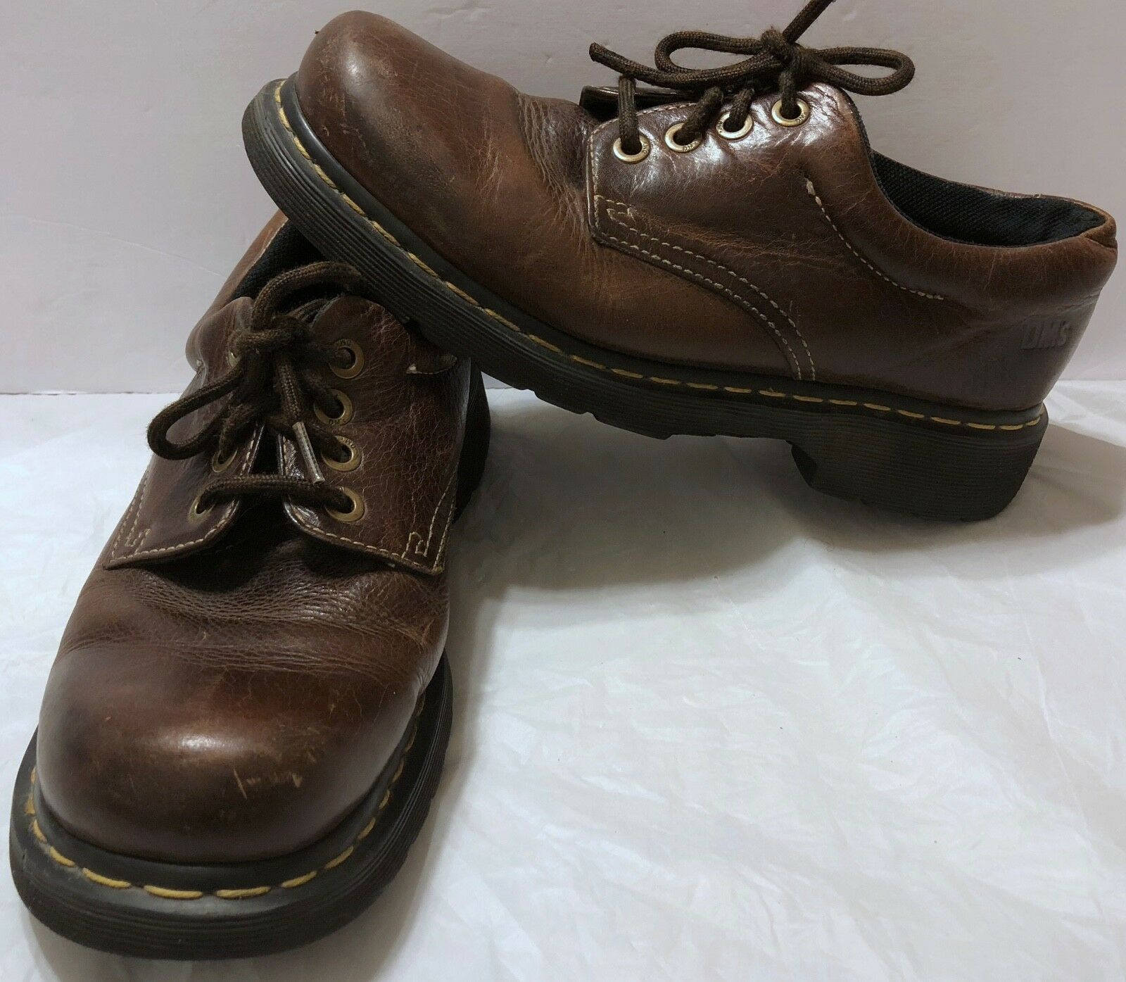 Dr. Martens Doc Martens Brown Leather Oxford shoes Sz 10 US Oxfords DMs Casual
