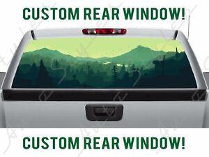 Missouri Pick-Up Truck Perforated Rear Window Wrap