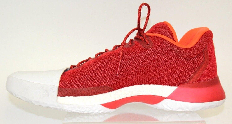 Adidas männer harden vol.1 - scarlet - weiße basketball - schuhe - scarlet 10,5 ef07e8