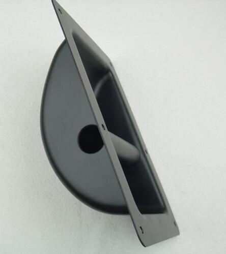 4x Schalengriff 220x162 mm Stahl schwarz Tragegriff Boxengriff Kistengriff Griff