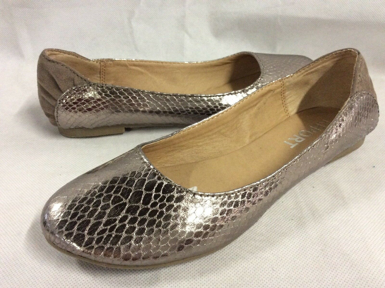 Informe kadience Para Mujer Zapatos Planos, Planos, Planos, Metálico, Talla 6... plana 2  wholesape barato