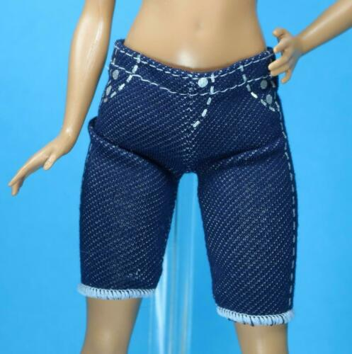 Sparkle Girlz Denim Look Pull on Stretch Shorts fits Skipper PETITE Doll