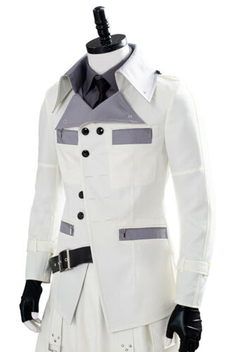 Final Fantasy VII Remake Rufus Shinra Cosplay Costume Outfit Full Set Jacket