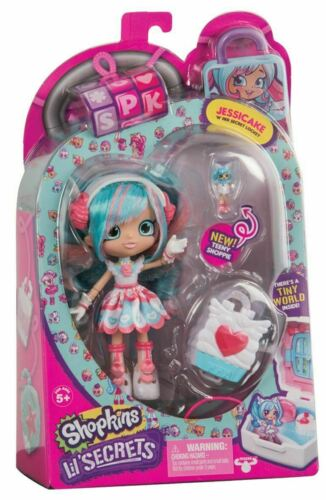 SHOPKINS Lil/' Secrets Shoppies Dolls JESSICAKE /'N/' Her Secret Locket Figure