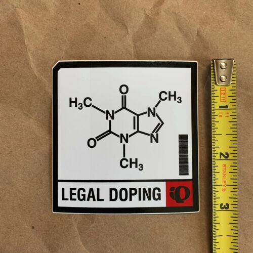 "3/"" x 3/"" genuine original Pearl Izumi /""Legal Doping/"" sticker decal NEW"