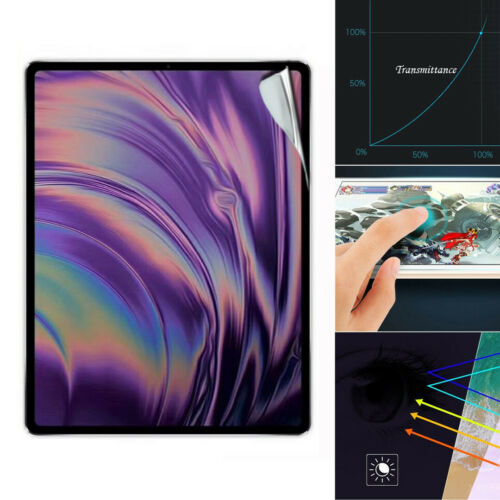 For Apple iPad Pro 11 Inch //12.9 Inch TPU //PET Film Screen Protection Soft Film