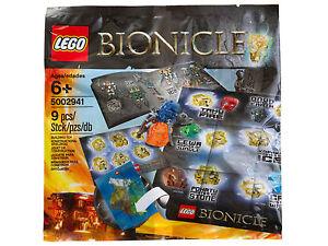 LEGO-Bionicle-Rare-Bionicle-Pack-5002941-New-amp-Sealed
