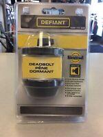 Defiant Deadbolt Lock BRAND NEW! Mississauga / Peel Region Toronto (GTA) Preview