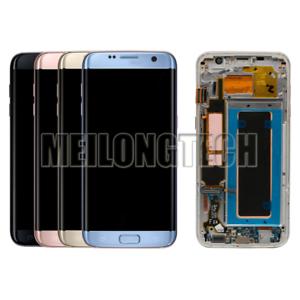 AMOLED-Ecran-LCD-Verre-Tactile-Sur-Chassis-Pour-Samsung-Galaxy-S7-Edge-SM-G935F