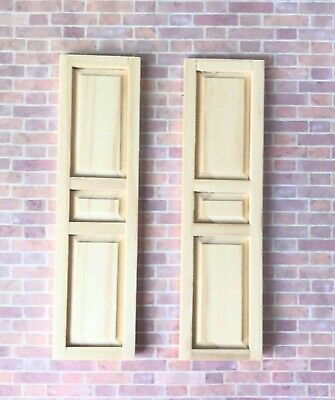 Dollhouse Building Supplies Houseworks AMERICAN SHUTTERS #5022