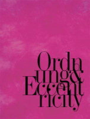 Ordnung and Eccentricity by Thomas Manss (Hardback, 2002)