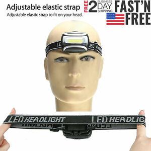 COB-LED-Headlamp-AAA-Headlight-3Mode-Head-Lamp-Light-Torch-Flashlight-Waterproof