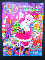 Lisa Frank 1 Giant Holiday Santa Claus Coloring Activity Book Brand