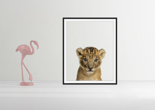 Nursery Wall Art Baby Animal Safari Prints Animal Nursery Decor Nursery A5