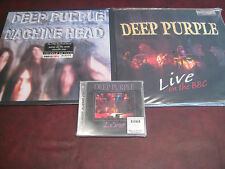 DEEP PURPLE LIVE ON BBC Limited Edition 180 GRAM  2 LPS + SACD + MACHINE HEAD LP