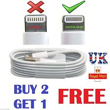 New Genuine Apple iPhone 6 6S 7 Plus SE 5 5S iPad Lightning To USB Charger Cable