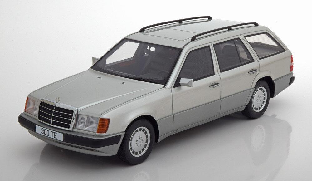 1990 Mercedes Benz 300 Te (S124) Argento da Bos Modelli le Of 504 1/18 Scala